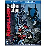 DC Animated Features Blu-Ray/DVD/Digital HD Movies: Batman vs. Robin, Batman: Assault on Arkham $9.99 ea. & More + Free In-Store Pickup