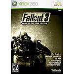 Fallout 3: Game of the Year Edition (Xbox 360) $8.46 + Free In-Store Pickup