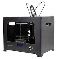 Monoprice Deal: Monoprice Dual Extrusion 3D Printer w/ 1kg Reel PLA Filament (ABS/PLA/PVA) $699.99 + Free Shipping