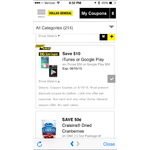$50 iTunes or Google Play Gift Card for $40 Dollar General