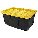 Lowes: Centrex Plastics Commander 27 Gallon Tote with Snap Lid $8.98
