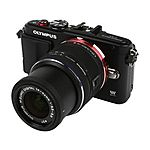 New OLYMPUS PEN E-PL6 Black with 14-42mm Kit Lens via Newegg Ebay $270 free shipping tax in Ca