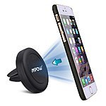 Mpow Grip Magic Magnetic Air Vent Car Mount for Smartphones  $5 + Free Shipping