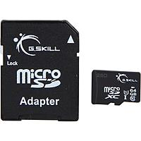 Newegg Deal: Flash Memory: 64 GB G.SKILL Class 10 UHS-1 microSDXC Flash Card for $18.98 AC, 32 GB ADATA Premier Class 10 UHS-1 microSDHC Card for $9.78 AC & More @ Newegg.com