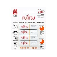Newegg Deal: 8-Pack of Fujitsu 2100 Cycle Ni-MH Pre-Charged Rechargeable Batteries for $15.98 or ORICO 6A (30W) 5-Port Black USB Charging Station for $8.99 AC + Free Shipping @ Newegg.com