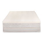 "2.5"" 100% Natural Latex Reversible Mattress Topper (Firm Side+Plush Side): Queen $155, King $180 + free shipping"