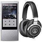 64GB Astell & Kern AK Jr. Hi-Res  Music Player + Audio Technica ATH-M70x Monitor Headphones $499 + free shipping