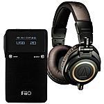 Audio-Technica ATH-M50xDG (Limited Edition Green) + FiiO E17K Amp/Dac $219 + free shipping