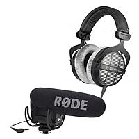 Adorama Deal: Beyerdynamic DT 990 250Ohm Pro Headphones + Rode Pro R Cardioid Condenser DSLR / Camcorder Microphone w/ Rycote Lyre Shock Mount $289 + free shipping