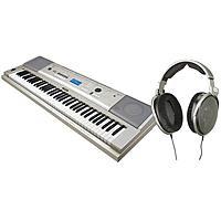 Adorama Deal: Yamaha YPG235 76-Key Keyboard + Sennheiser HD600 $400 or w HD650 $500 or Yamaha FG700S 6 String Folk Acoustic Guitar + Zoom ZH1 Audio Recorder $215 + free shipping