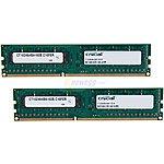 Crucial 16GB (2 x 8GB) 240-Pin DDR3 1600 Desktop Memory $72.99 w/promo code EMCAWNK66