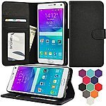 Note 5 Case, Abacus24-7 Note 5 Wallet Case $4.99 with Freeshipping